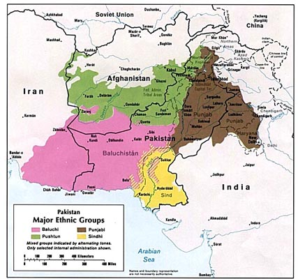 Afghanistan And Pakistan Historical Maps