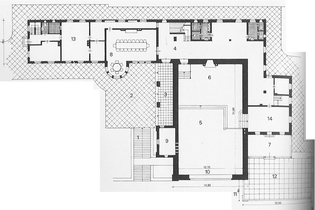 Berghof Floor Plan