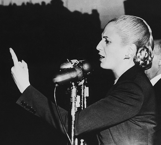 evaluating whether evita is a saint or a sinner in the story of eva peron