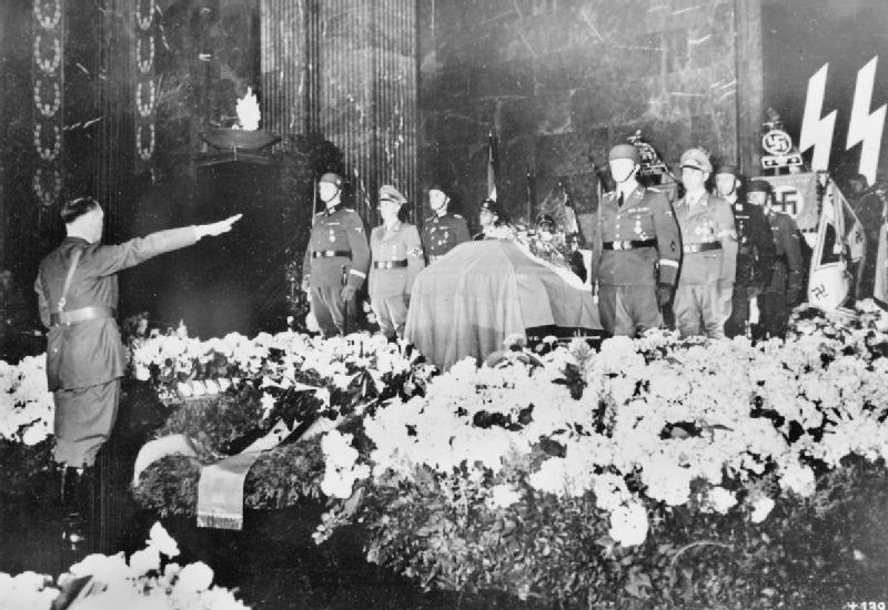 Image result for heydrich funeral